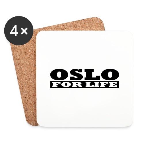 Oslo fürs Leben - Untersetzer (4er-Set)