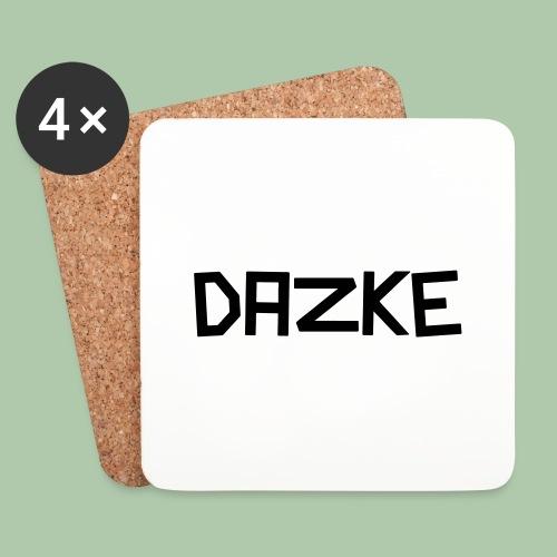 dazke_bunt - Untersetzer (4er-Set)
