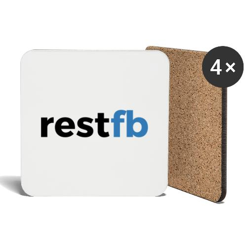 RestFB logo black - Coasters (set of 4)