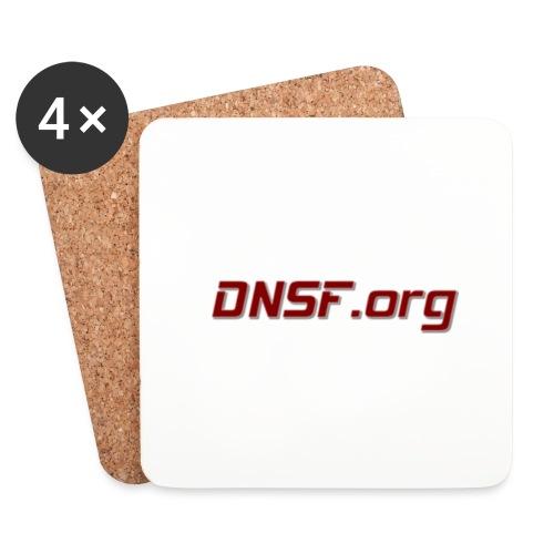 DNSF t-paita - Lasinalustat (4 kpl:n setti)