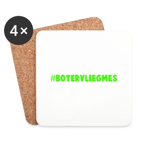 #botervliegmes hoodie (vrouwen) - Onderzetters (4 stuks)