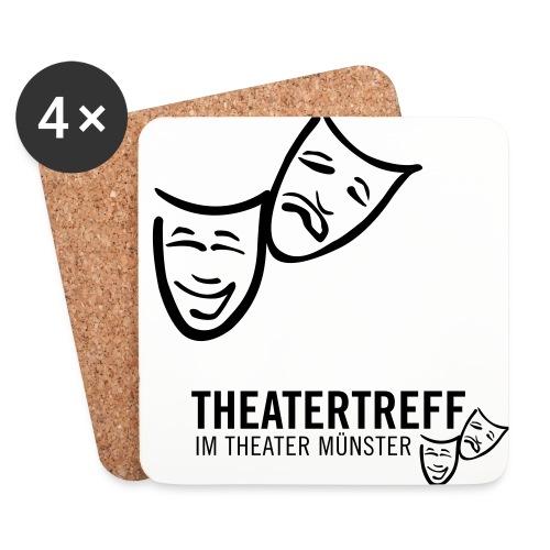 logo_tt - Untersetzer (4er-Set)