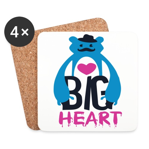 Big Heart Monster Hugs - Coasters (set of 4)