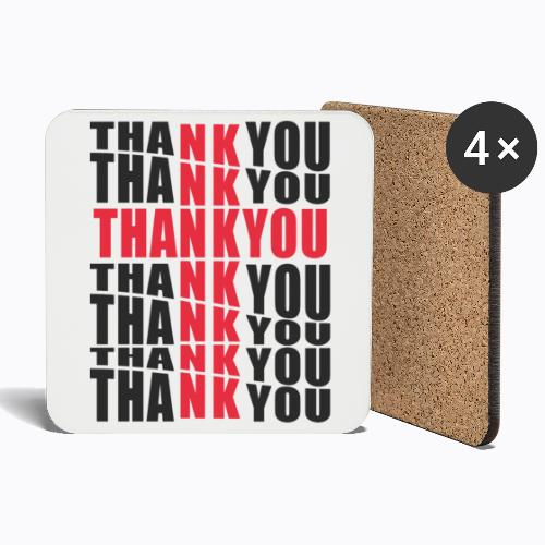 Thank you - Coasters (set of 4)