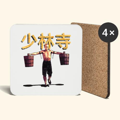 Shaolin Warrior Monk - Onderzetters (4 stuks)