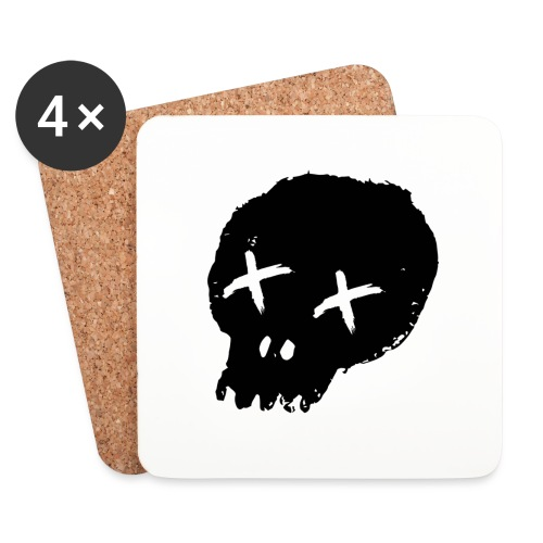 blackskulllogo png - Coasters (set of 4)