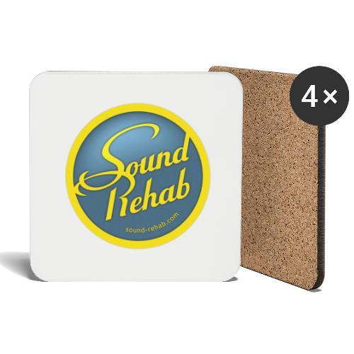 Sound-Rehab Logo - Untersetzer (4er-Set)