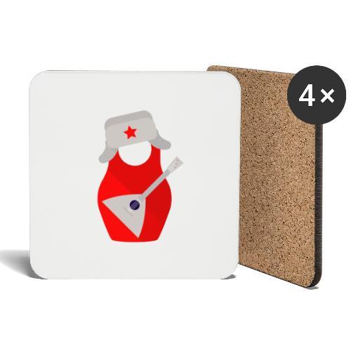 Matryoshka-Edition - Coasters (set of 4)