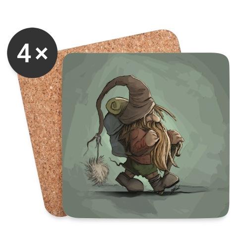 Gnome - Coasters (set of 4)
