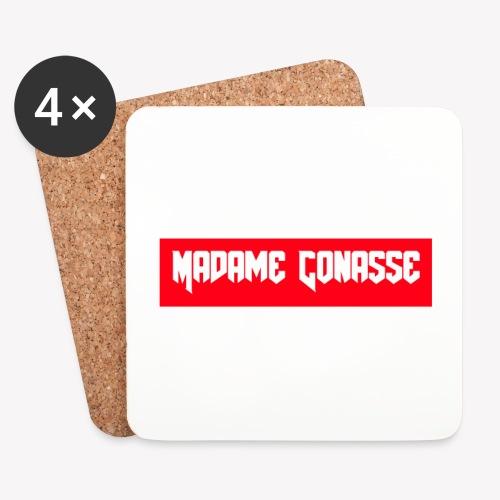 Madame Conasse - Dessous de verre (lot de 4)