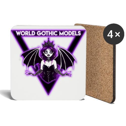 WGM Goth Queen 2021 Merch - Coasters (set of 4)