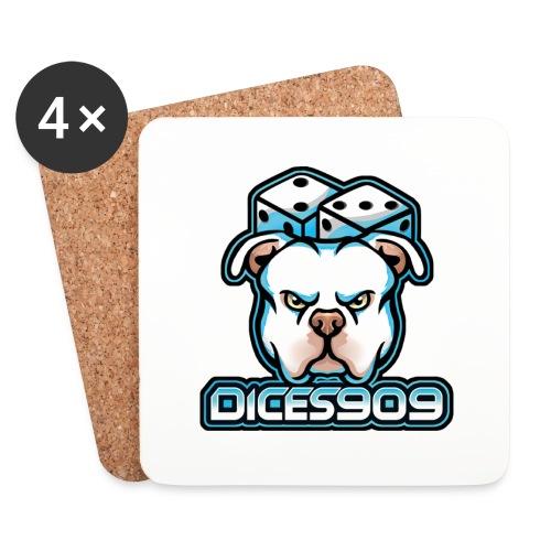 DICES909 V2 - Onderzetters (4 stuks)