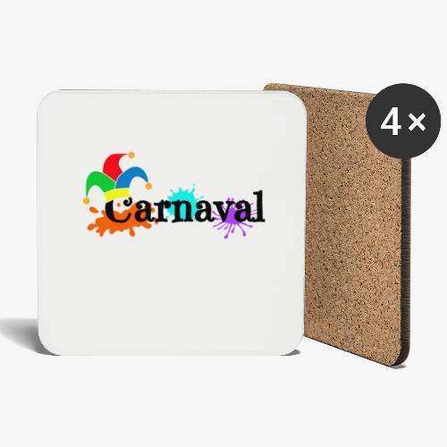 Carnaval - Posavasos (juego de 4)