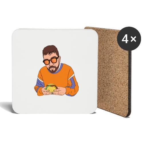 co_hamburger - Sottobicchieri (set da 4 pezzi)