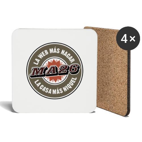 Logo MA26 original - Posavasos (juego de 4)