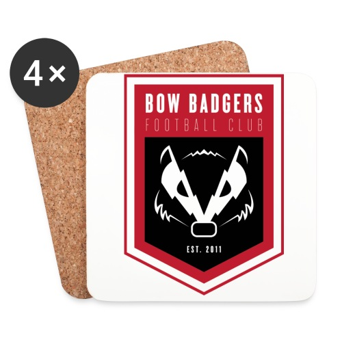 BB_LOGO_FINAL - Coasters (set of 4)