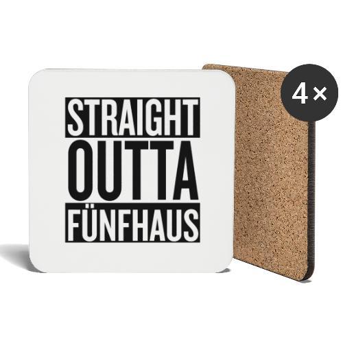 Straight Outta Fünfhaus - Untersetzer (4er-Set)