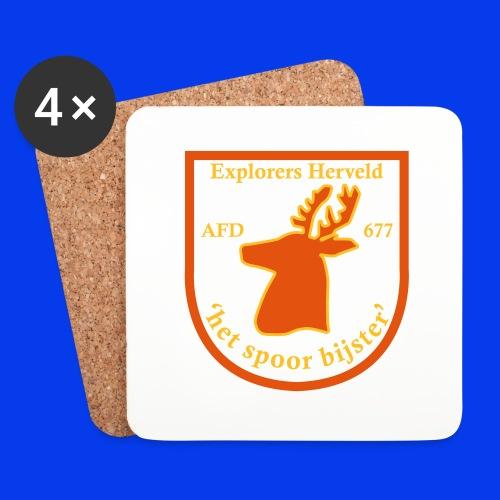 Explorer Trui - Onderzetters (4 stuks)