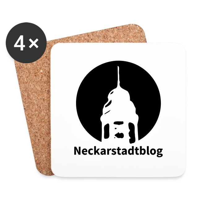 Logo mit Schriftzug invertiert