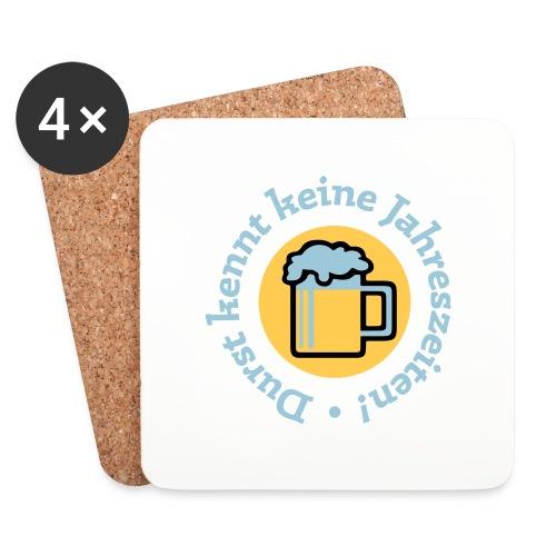 Bier Durst Jahreszeiten Sommer Oktoberfest Grill - Coasters (set of 4)