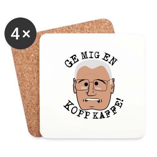 Lennart ge mig en kopp kaffe3500x4602 png - Underlägg (4-pack)