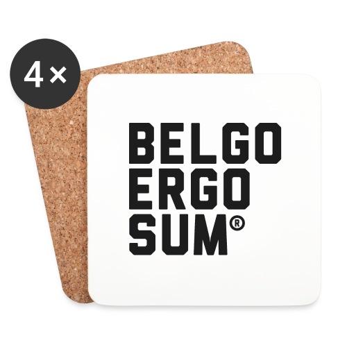 Belgo Ergo Sum - Coasters (set of 4)