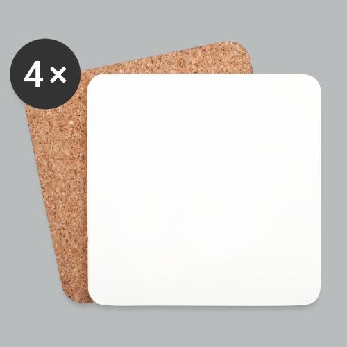 DFBM unbranded white - Coasters (set of 4)