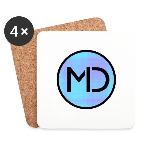 MD Blue Fibre Trans - Coasters (set of 4)