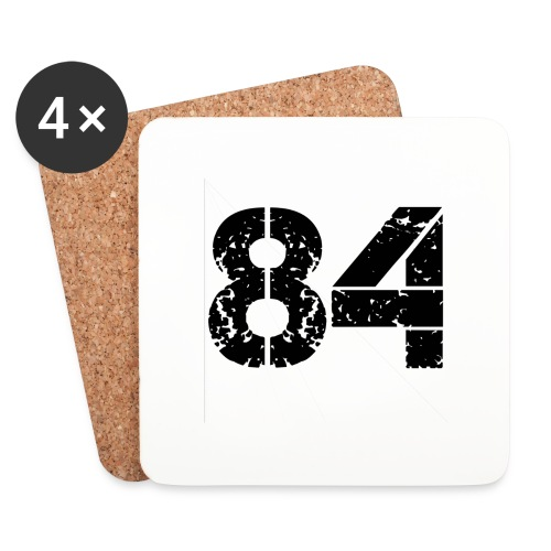 84 vo t gif - Onderzetters (4 stuks)