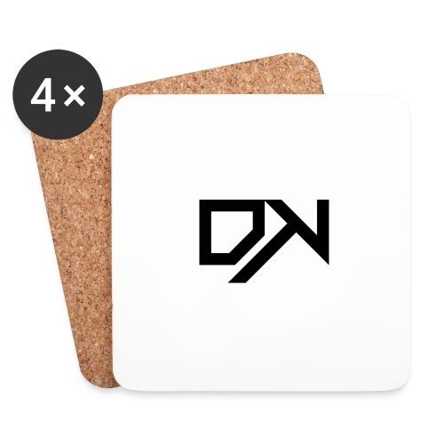 DewKee Logo T-Shirt Black - Coasters (set of 4)