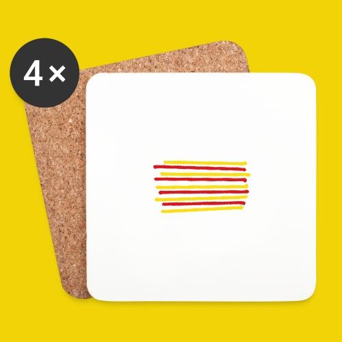 Catalonia Scratch - Coasters (set of 4)