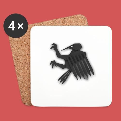 Nörthstat Group ™ Black Alaeagle - Coasters (set of 4)