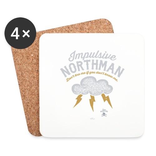 Impulsive Northman - Glasbrikker (sæt med 4 stk.)
