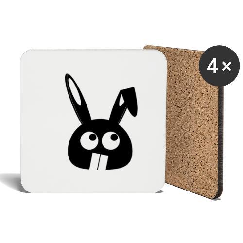 Puny Bunny - Flappy Ears - Lasinalustat (4 kpl:n setti)