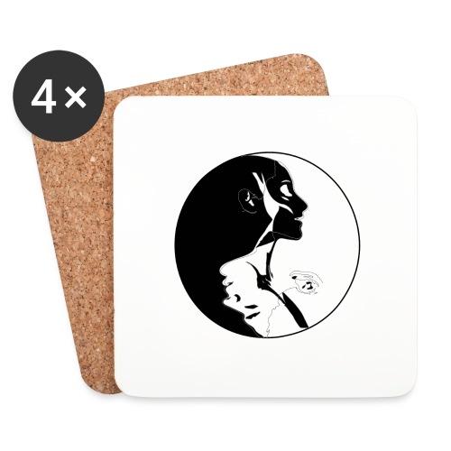 yang yin - Podstawki (4 sztuki w zestawie)