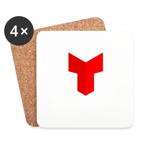 redcross-png - Onderzetters (4 stuks)