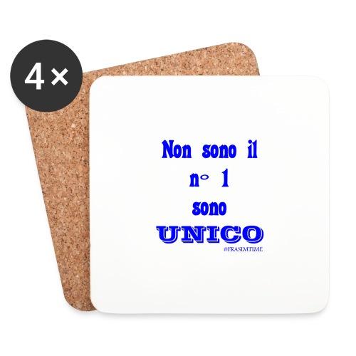 Unico #FRASIMTIME - Sottobicchieri (set da 4 pezzi)