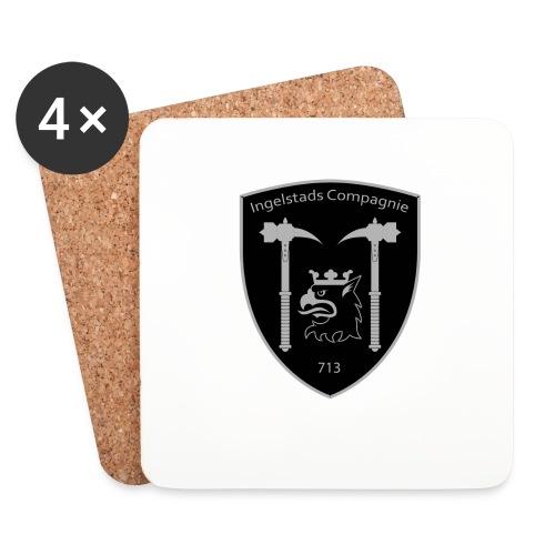 Kompanim rke 713 m nummer gray ai - Underlägg (4-pack)