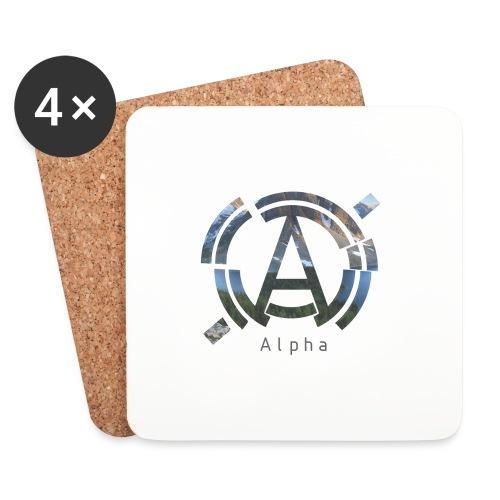 AlphaOfficial Logo T-Shirt - Coasters (set of 4)