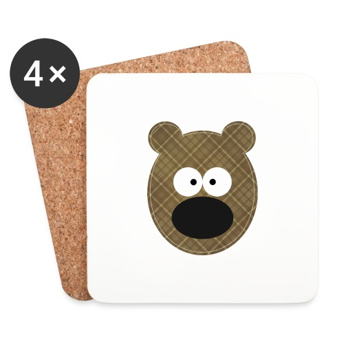 Little Bear - Sottobicchieri (set da 4 pezzi)