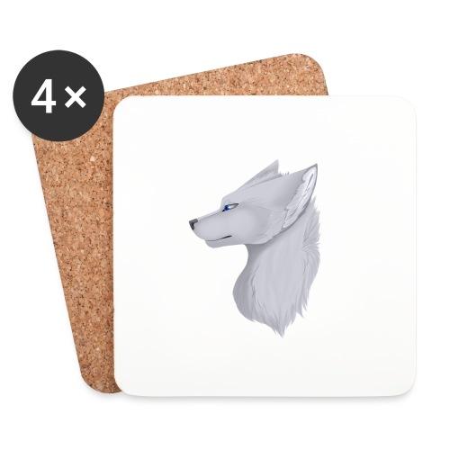 Wolf Bib - Coasters (set of 4)