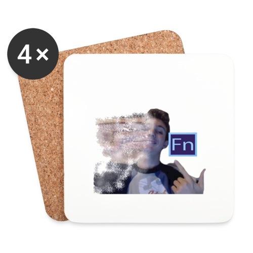 Maglietta falsonome -scomposizione 1 - Sottobicchieri (set da 4 pezzi)