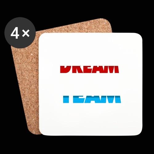 DreamTeam - Glasbrikker (sæt med 4 stk.)