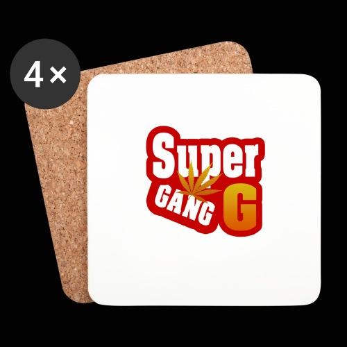 SuperG-Gang - Glasbrikker (sæt med 4 stk.)