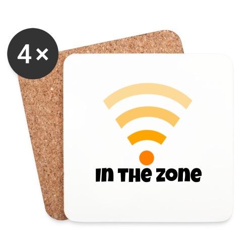In the zone women - Onderzetters (4 stuks)
