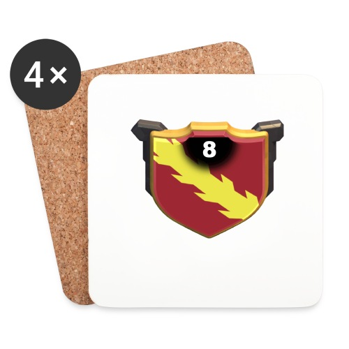 ESCUDO-01 - Posavasos (juego de 4)