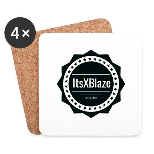ItsXBlaze Logo 2 Women V-Neck Option 1 - Onderzetters (4 stuks)