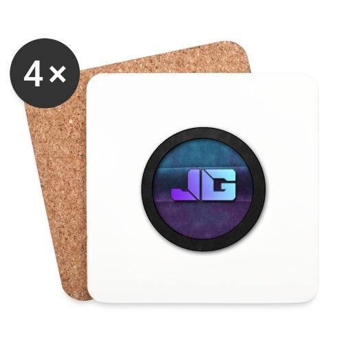 Telefoon hoesje 5/5S met logo - Onderzetters (4 stuks)