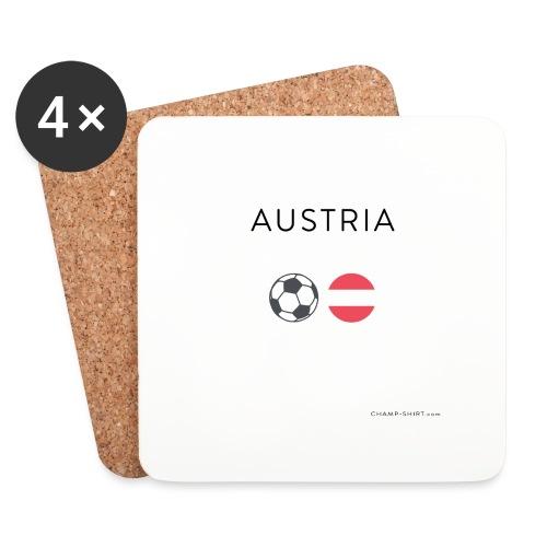 Austria Fußball - Untersetzer (4er-Set)