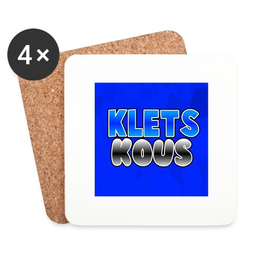 Kletskous Muismat - Onderzetters (4 stuks)